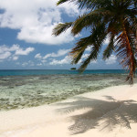 Beach at Silk Cayes, Belize